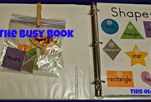 Busy book ideas / by Beth Hodnett