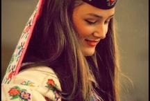 Folk dress Eastern Europe