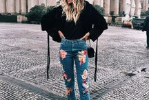 Street Style | Embroidery Jean