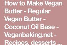 Vegan food and desserts
