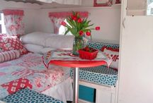 Red & Turquoise Glamper Ideas