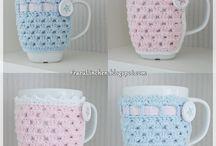 Crochet Cup Cozy's