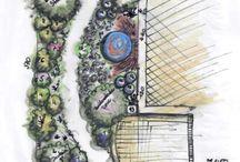 Gartenplan (garden plan/ design) / Gartenglück für jede Größe mit dem passenden Konzept - so wird´s schön