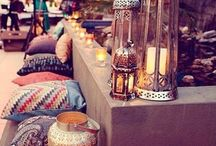 Bohemian / Morrocan / Turkish / Metalic / Antique / Conservatory Living Room