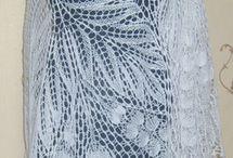Вязаные платки