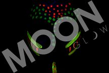 GLOW IN THE DARK FACE AND BODY PAINT by Moon Glow / Glow in the dark paint perfect for Halloween Parties or Neon Parties! Take a look at our glow in the dark paint!