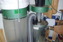 вентиляция и циклоны в мастерской