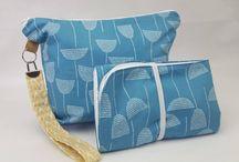 Zipper pouch change mat sets