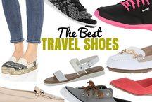Walking travel shoes