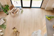 Floating Floors / This can be anything from laminate flooring, to engineered floors. The main thing is, that these don't have to be glued or nailed down, and provide a more simple or cheaper solution for your flooring needs.