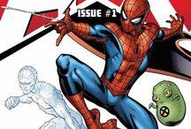 Marvel Comics / by Taryne Rhedey