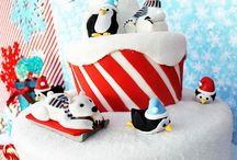 Red Winter Birthday / 2 year old birthday party ideas
