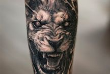 tatto lion
