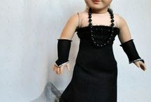 doll gowns / American Girl formal