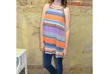 Striped Tops and Dresses