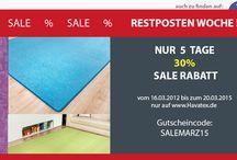 Startseite Havatex.de / Auf der Startseite von Havatex.de gibt es immer wieder neue Angebote