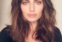 Corte y estilos pelo largo medio