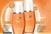 Justine Beauty Products / Tissue Oil Products which I love