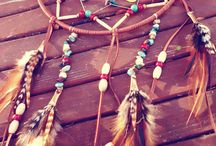 Feathers and dreamcatchers