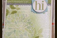 Stampin' Up! - Regarding Dahlias