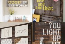 Pallet boards galore!! / by Leianna Cooper
