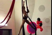 Tecido acrobáticos