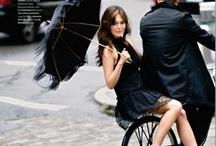 Girl & the bike
