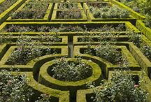 Inspiration:The Garden Series / Inspirations behind my Garden scarves!