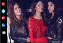 Sonali Katyal, Khushi bhatt with Roshini Malhotra, Nitin Chawla's event, Timesofindia.com