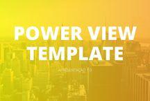 Template PowerView - PowePoint / Slides prontos da apresentação PowerView no RocketSlides. https://slidesprontos.com.br/downloads/apresentacao-multi-uso-powerview/