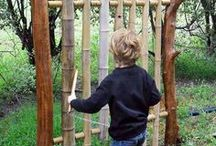 Nature Playground - fixed activity / Non-moveable, fixed place activities or features