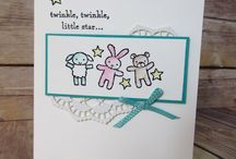 Moon Baby - Stampin' Up! Spring/Summer 2017 / Gorgeous new stamp set by Stampin' Up!. Can't wait to make some baby cards using this set - check my blog to see what I come up with www.crafty-rootes.com