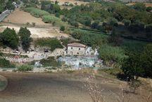 #Saturnia / Terme of Saturnia. #Tuscany, #Italia