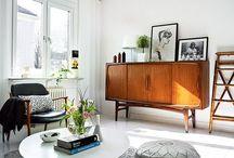 Design / We love the 70 and the Scandinavian style, so we decided to mix them for a modern interior design