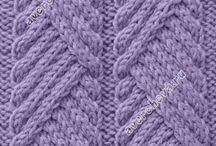 Вязание: Узоры спицами
