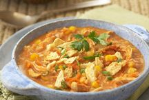 Top Soups, Stews and Chili / Hearty soup simmering on the stove is a delicious way to satisfy your soul as the weather turns chilly. Here are our coziest soup, stew and chili recipes to warm you up! / by Nestle Kitchens