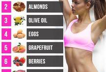 Makan sehat untuk PERUT RATA