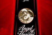Angel Of Heaven Gin / The making of a 'New Gin Label' Angel Of Heaven • www.artwerk.be • www.kustomtype.com Hot New Gin Label - Packaging Design - Label Design _Type Design - Lettering