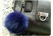 fur & fashion / Real fox fur accessories. Made in Kastoria,Greece