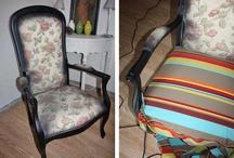 Tete de lit et autre / Tete de lit et chaise