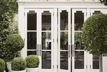 French and glass doors