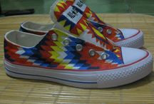 Handmade Painting Shoes