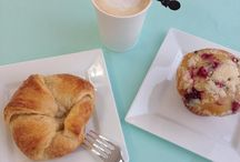 Cafe Delicacies / Our cafe features esserts, pastries, fresh salads, delectable quiches, petit fours, and of course, decadent cupcakes. Our delicious, fresh-brewed coffees, lattes, teas, and more are a perfect addition