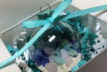 Sea Glass Art & Mermaid Art by Sea Glass Visions / Beautiful art and whimsey created with sea glass by Sea Glass Visions