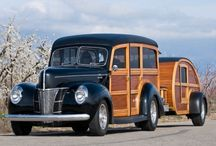 Woodys and some others. / Mostly older Fords - / by Bonnie M Noxon