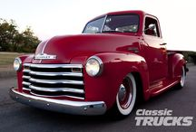 Classic trucks / Once they were the backbone of our country and now they are shined up showpieces.