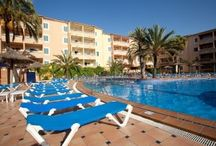 Cabau Aquasol Apartments / Cabau Aquasol is a 3 upper star aparthotel in Majorca situated in the heart of Palmanova. It is part of the Cabau Hotels group that have run the establishment for over 30 years.