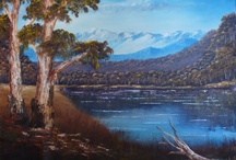Australian Landscapes / This board will be dedicated to paintings of Australian Landscapes
