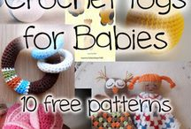 Crochet toys for babies