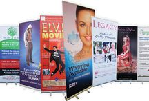 Exhibition & Retail Display Stands / Popular display stands that available in various portable types to suit all campaigns and budgets.